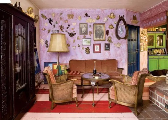 Colorful Fairy Tale House With Vintage Furniture DigsDigs