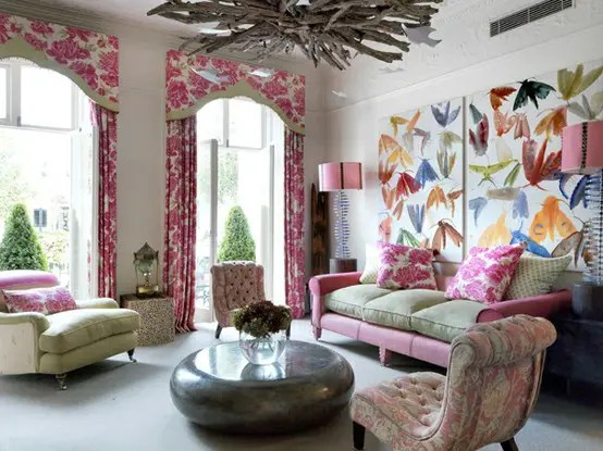 111 Bright And Colorful Living Room Design Ideas - DigsDigs on Colourful Living Room  id=23977