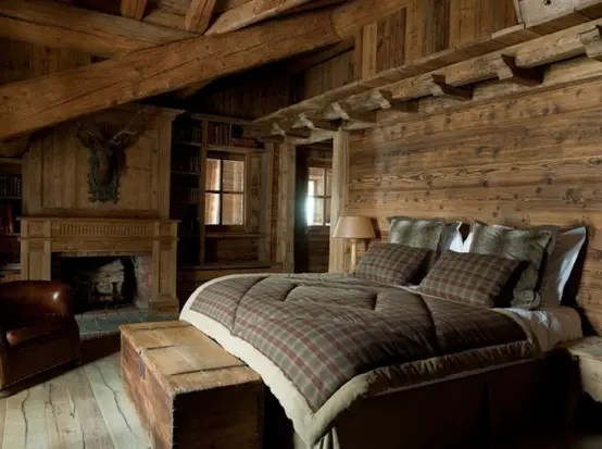 26 Comfy And Natural Chalet Bedroom Designs DigsDigs