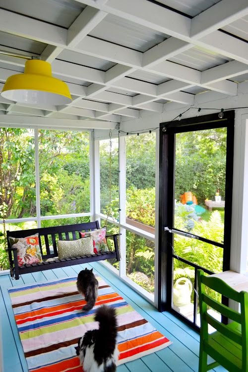 Screened Back Porch Designs