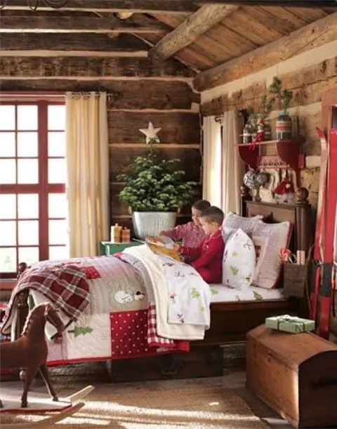 27 Cool And Fun Christmas D 233 Cor Ideas For Kids Rooms