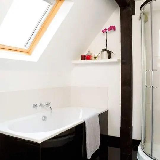 26 Cool And Stylish Small Bathroom Design Ideas - DigsDigs on Small Space Small Bathroom Ideas Uk id=47656