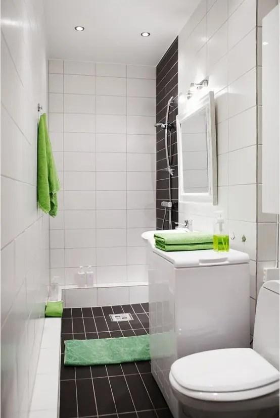 54 Cool And Stylish Small Bathroom Design Ideas - DigsDigs on Small Space Small Bathroom Ideas With Shower id=19102