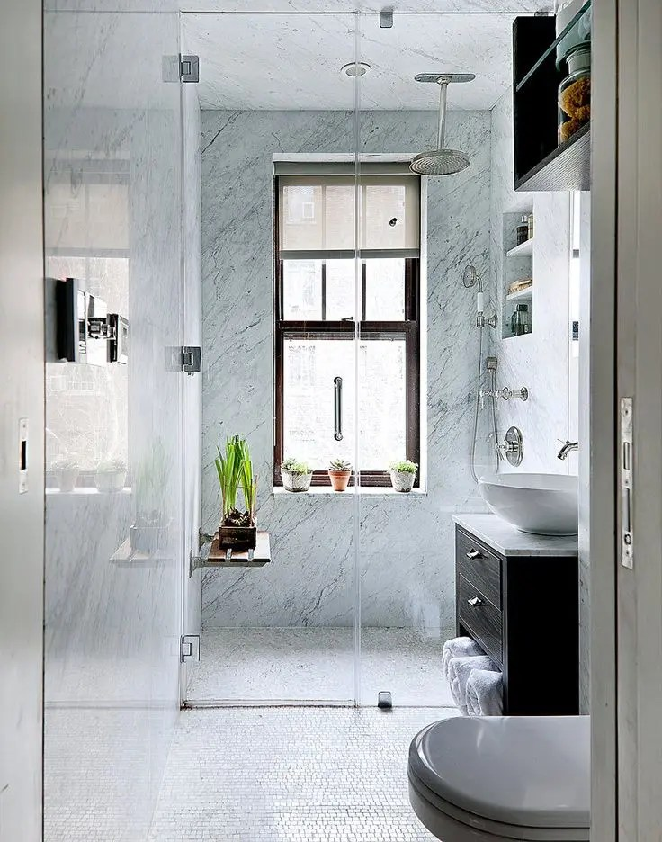 26 Cool And Stylish Small Bathroom Design Ideas - DigsDigs on Nice Bathroom Designs For Small Spaces  id=65562