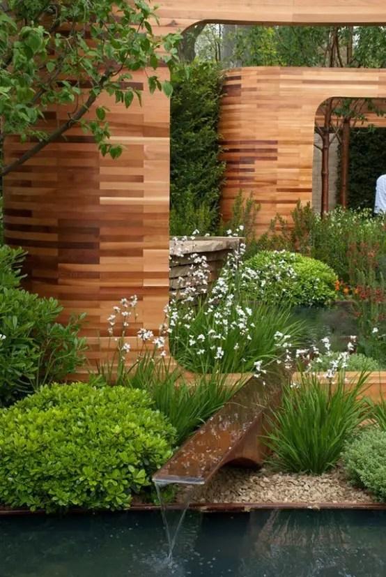 67 Cool Backyard Pond Design Ideas - DigsDigs on Cool Backyard Patio Ideas id=19899