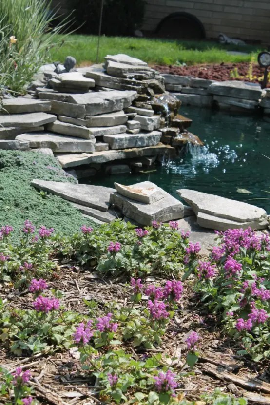 67 Cool Backyard Pond Design Ideas - DigsDigs on Small Backyard Pond  id=99865