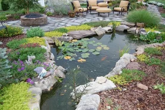 Koi Pond Design Japanese