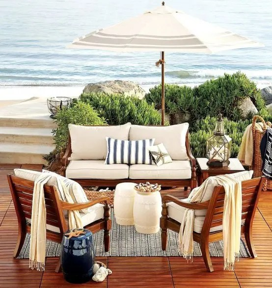 39 Cool Sea And Beach Inspired Patios Digsdigs