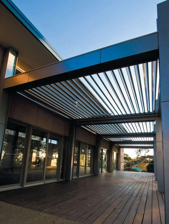Cool Idea for Patio - Opening Roofs by Louvretec   DigsDigs on Roof For Patio Ideas id=88708