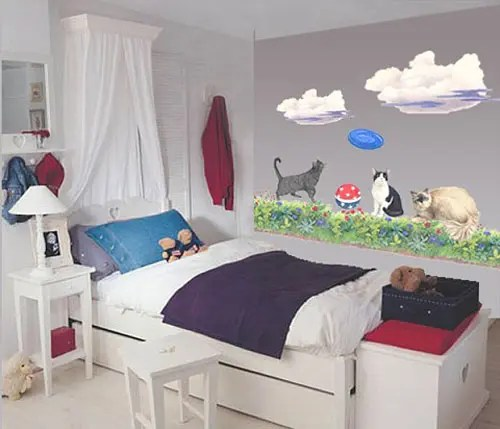 50 cat themed room decorating ideas - Cat Room Design Ideas