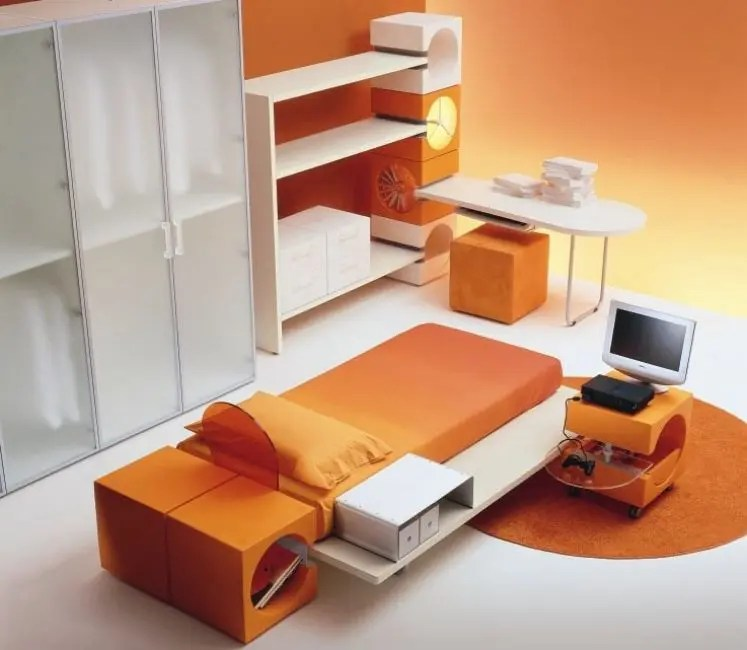 13 Cool Kids Bedrooms - Letti Singoli Collection from Di ... on Teenage:m5Lo5Qnshca= Room Ideas  id=61422