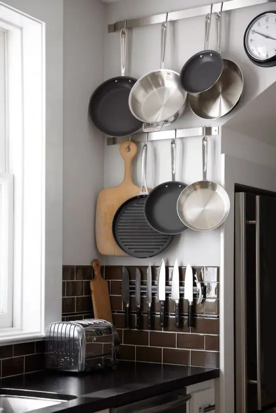 58 Cool Kitchen Pots And Lids Storage Ideas Digsdigs