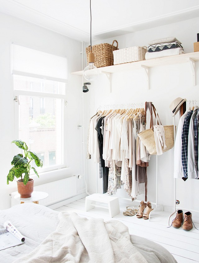 29 Cool Makeshift Closet Ideas For Any Home Digsdigs