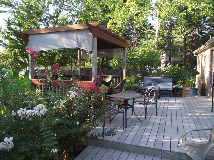 35 Cool Outdoor Deck Designs | DigsDigs on Cool Backyard Patio Ideas id=89080