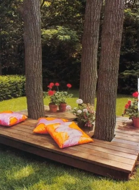 35 Cool Outdoor Deck Designs - DigsDigs on Cool Backyard Patio Ideas id=76631