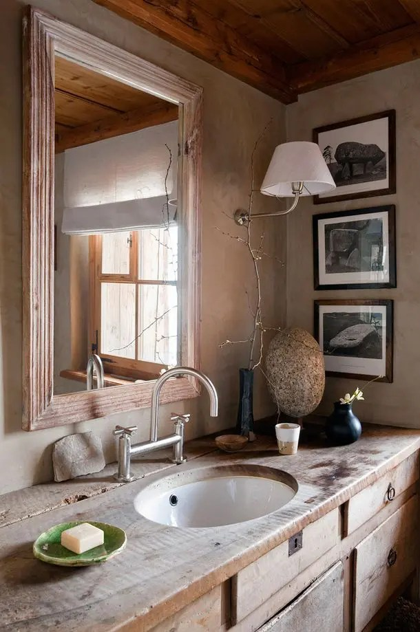 39 cool rustic bathroom designs digsdigs on rustic bathroom designs photos id=13577