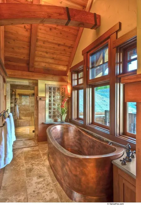 39 cool rustic bathroom designs digsdigs on rustic bathroom designs photos id=48342