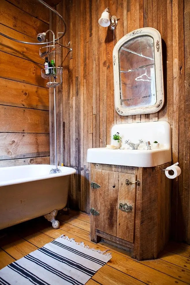 39 cool rustic bathroom designs digsdigs on rustic bathroom designs photos id=92951