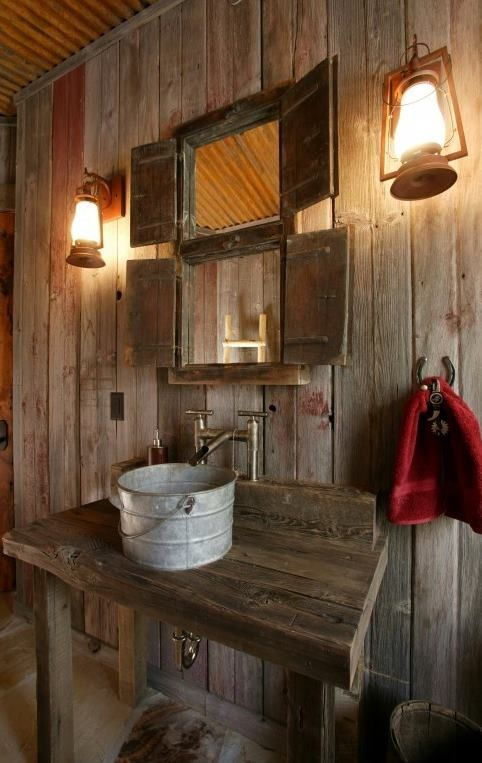 39 Cool Rustic Bathroom Designs   DigsDigs Cool Rustic Bathroom Designs
