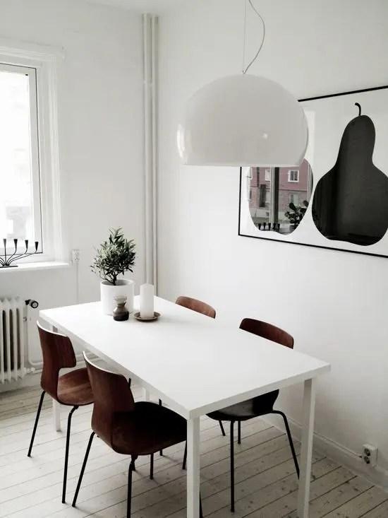 40 Cool Scandinavian Dining Room Designs DigsDigs