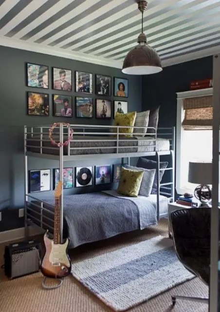 42 Cool Shared Teen Boy Rooms Décor Ideas - DigsDigs on Cool Bedroom Ideas For Teenage Guys With Small Rooms  id=89099