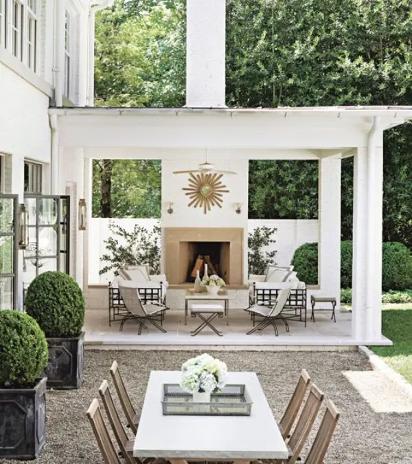 40 Coolest Modern Terrace And Outdoor Dining Space Design ... on Living Spaces Outdoor Dining id=21798