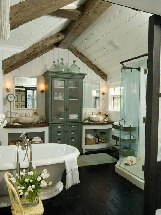 Elegant Bathroom Design Ideas for Your Home  New Bathroom  New You     Blending Get the Best of Both Worlds