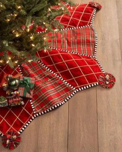 35 Cozy Plaid Dcor Ideas For Christmas DigsDigs