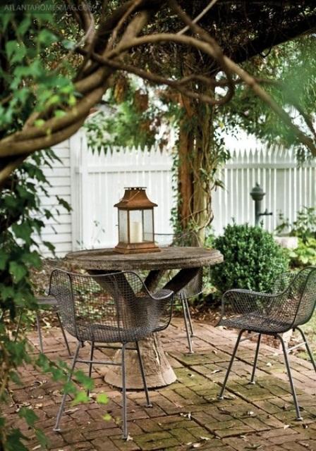 57 Cozy Rustic Patio Designs - DigsDigs on Cozy Patio Ideas id=23638
