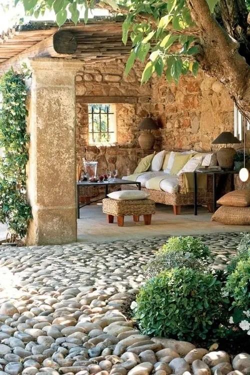 57 Cozy Rustic Patio Designs - DigsDigs on Cozy Patio Ideas id=47774