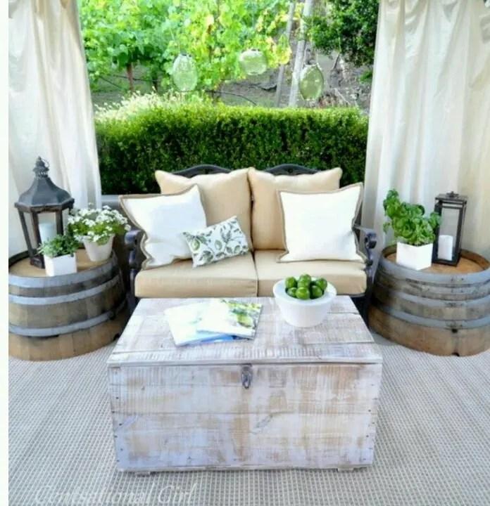 57 Cozy Rustic Patio Designs | DigsDigs on Backyard Deck Decor  id=59932