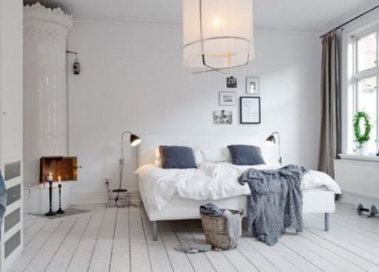 50 cozy and comfy scandinavian bedroom designs - digsdigs