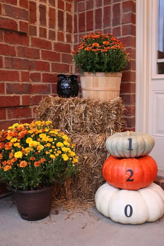 Thanksgiving Front Porch Decorations
