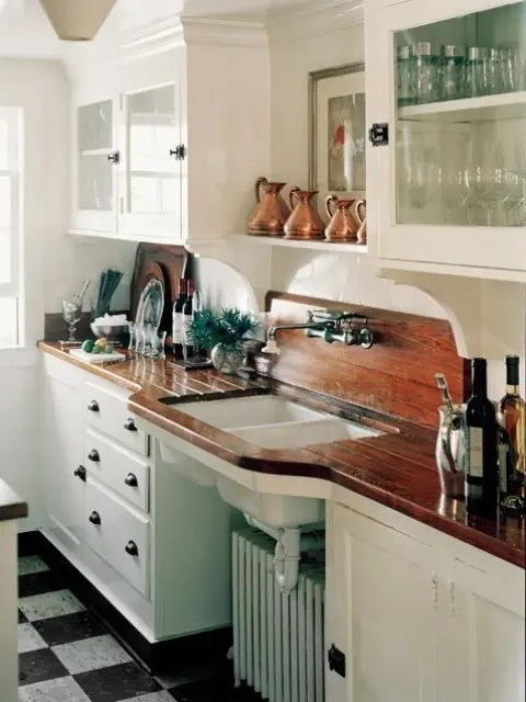 Country Kitchen Countertops Ideas