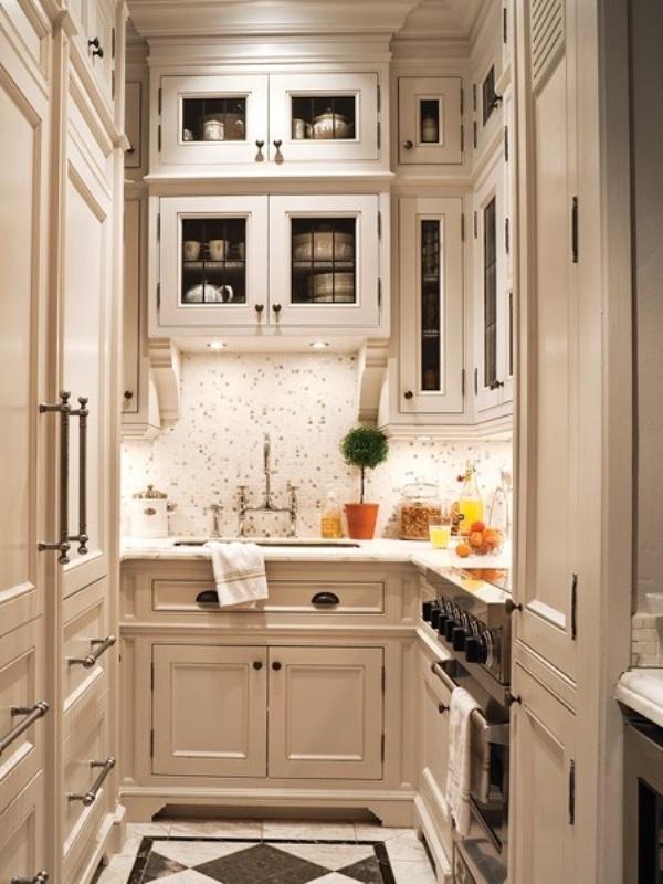 45 Creative Small Kitchen Design Ideas | DigsDigs on Rustic:rkh3E0Gkuju= Farmhouse Kitchen Ideas  id=25660