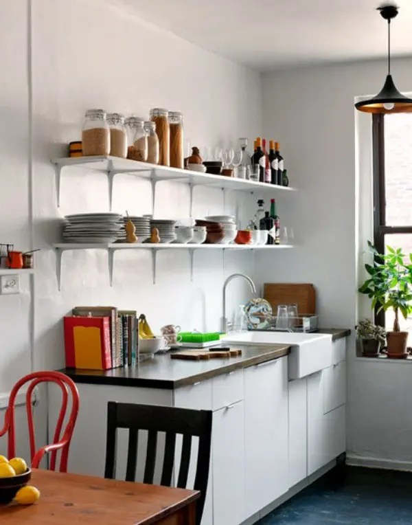 70 Creative Small Kitchen Design Ideas - DigsDigs on Tiny Kitchen Remodel Ideas  id=54703