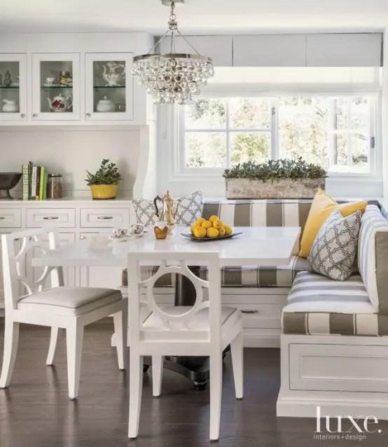40 Cute And Cozy Breakfast Nook Décor Ideas - DigsDigs on Nook's Cranny Design Ideas  id=43715