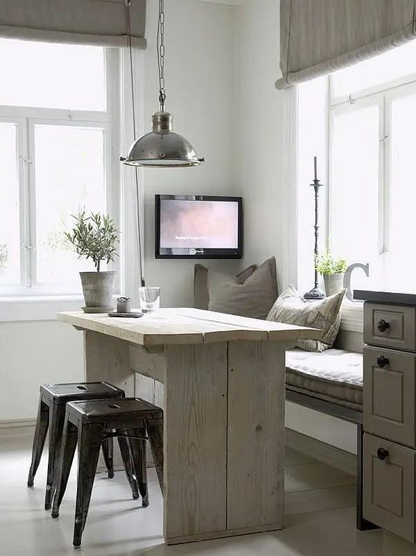 40 Cute And Cozy Breakfast Nook Décor Ideas | DigsDigs on Nook's Cranny Design Ideas  id=68413