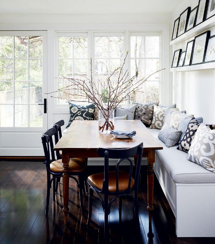 40 Cute And Cozy Breakfast Nook Décor Ideas | DigsDigs on Nook's Cranny Design Ideas  id=16092