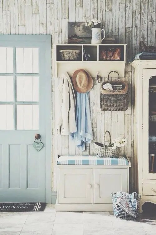 40 Cute And Sweet Shabby Chic Hallway D 233 Cor Ideas Digsdigs