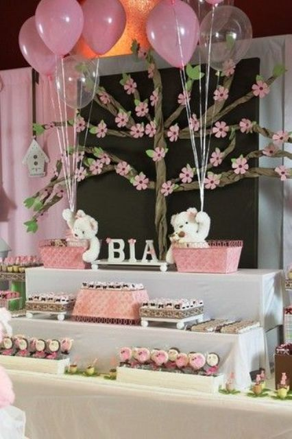 36 Cute Balloon D233cor Ideas For Baby Showers DigsDigs
