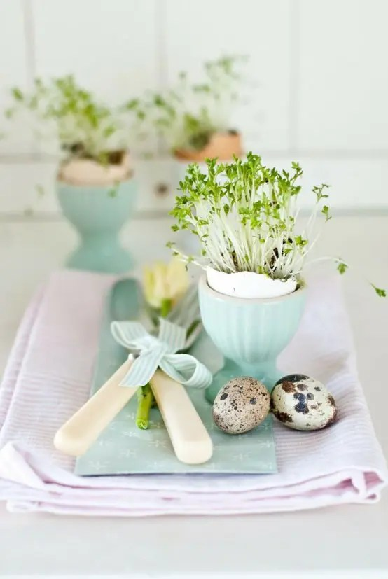 21 Beautiful Easter Table Setting Ideas - jane at home