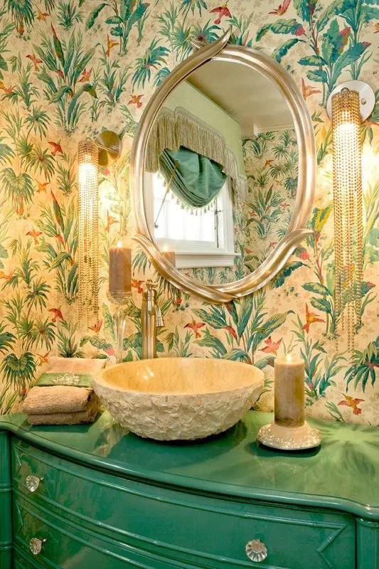 Decorating With Botanical Wallpaper 31 Beautiful Ideas DigsDigs