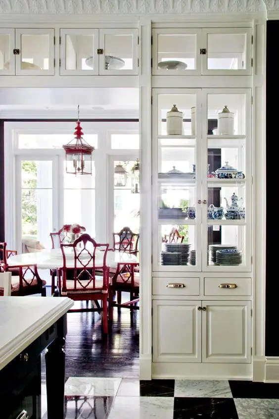 Two Sided Kitchen Design