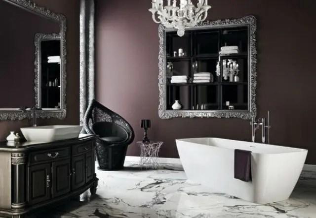 22 Dramatic Gothic Bathroom Designs Ideas DigsDigs