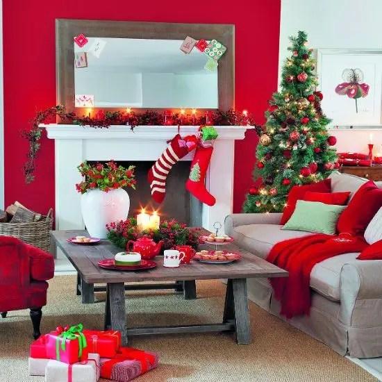 55 Dreamy Christmas Living Room Décor Ideas Digsdigs Part 82