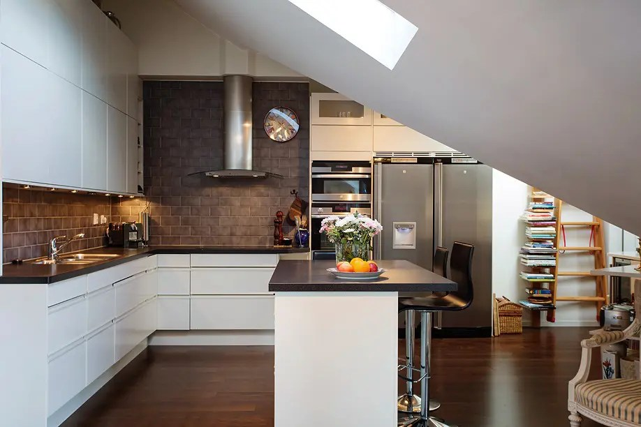 elegant and timeless kitchen design in chocolate and white on kitchen remodeling and design ideas hgtv id=85476