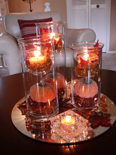 43 Fall Coffee Table D    cor Ideas   DigsDigs Fall Coffee Table Decor Ideas