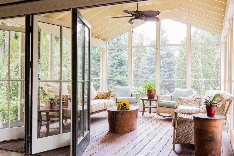 Habitat plus 1 look 4 ways, interior colour schemes. 75 Awesome Sunroom Design Ideas - DigsDigs