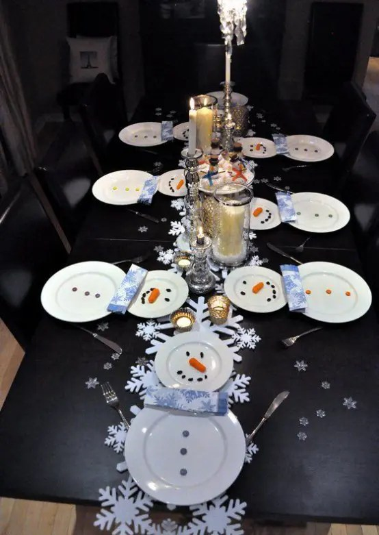 29 Fun Snowman Christmas Decorations For Your Home Digsdigs